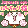 ぽっちゃりした日本猫2