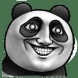 可愛的熊貓.