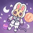 yellow bunny happy life