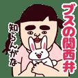 ブスの関西弁