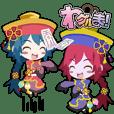Waguruma Sticker (Kyonshi)