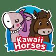 Kawaii horses