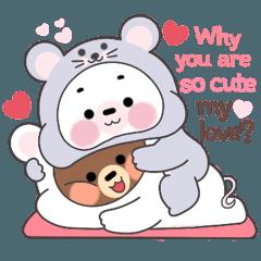 ไมโล กับ โมจิ คู่รักหมีน้อย Vol.2 (EN)