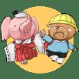 I-Chan and Kumaji Japanese Version