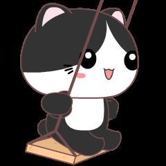 Tuxedo Cat 3 :Animated
