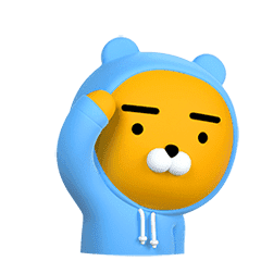 Kakao Friends Real Animated Stickers