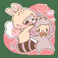LOVE!Raccoon&Rabbit8