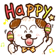 Poosuke is a cheerful dog