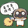 Cosmos Buddy & little Octopus (text)