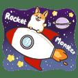 Rocket The Monster Corgi