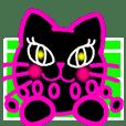 Tennis Pinky Blackcat
