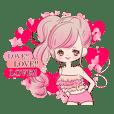LOVE LOVE LOVE KAWAII PinkGirl