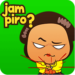 mrs ayu the javanese woman vol 2 line stickers line store mrs ayu the javanese woman vol 2