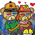 Rossy the lover bear & Yorkie Coco I ENG