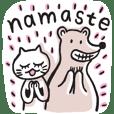 アメイ, アシュタンガヨガの猫