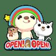 OPEN ! OPEN !
