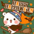 Halloween of an Vulgar bear.