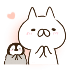 penguin and cat days2