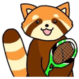 レッサーくんとテニスしよ!