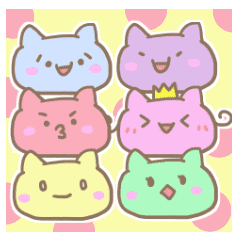 6cats stickers