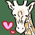 可愛的長頸鹿2