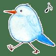青い小鳥と仲間たち