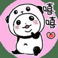 穿熊貓裝的熊貓5
