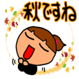 Girl sticker-2