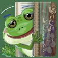 croak croak frog 1