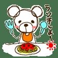 Gluttonous bear
