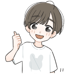 Daily Stickers of a boy 1