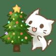 聖誕貓咪喵