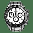 総額6000万円の腕時計スタンプ