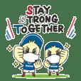 YokohamaF.marinos Stay Strong Together