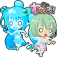 Waguruma Sticker(Underling combination)