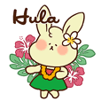 hula rabbit