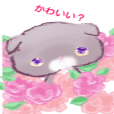 kirakira girly kitty  stickers