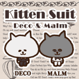 kitten Suit -Deco&Malm-