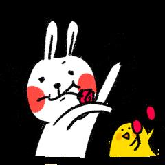 懶散兔與啾先生的OS人生 2