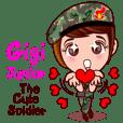 จีจี้ จูเนียร์ ทหารน่ารักมากๆ