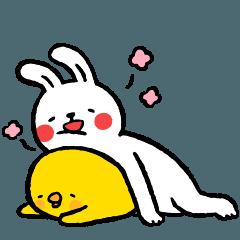 懶散兔與啾先生的相親相愛篇