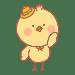 ぽちゃぽちゃかわいいひよこ 'ひよこ豆'