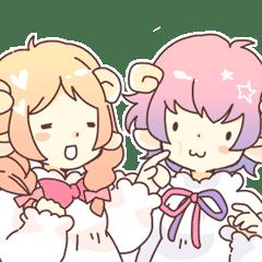 羊耳的女孩 阿尼和奧斯卡