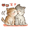 Kitten daily sticker