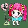 乙女と煩悩ちゃんの恋するスタンプ2