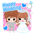 Happy Wedding -English-