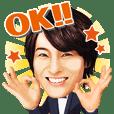 Kei-chan, a prince enka singer in Japan.