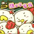 鳥顔文字家族 (チョーかおもじかぞく)
