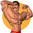 Bodybuilder Dad English Version