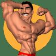 Bodybuilder Dad English Version